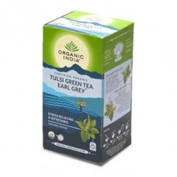 ORGANIC TULSI GREEN TEA EARL GREY 25N
