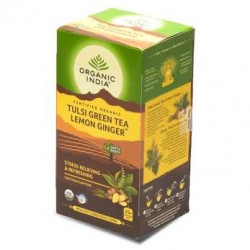ORGANIC TULSI GREEN LEMON GINGER TEA 25N
