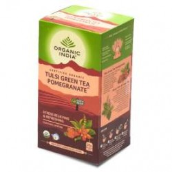 ORGANIC TULSI GREEN POMEGRANATE TEA 25N
