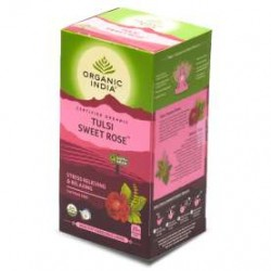 ORGANIC TULSI SWEET ROSE TEA 25N