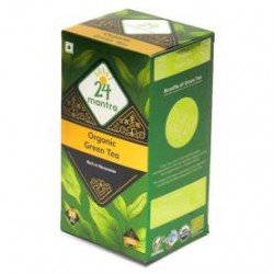 24 MANTRA ORGANIC GREEN TEA 25 BAGS