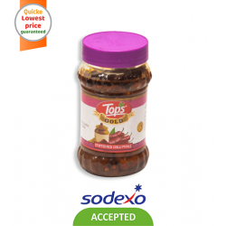TOPS GOLD PICKLE RED CHILLI PICKLE 400GM