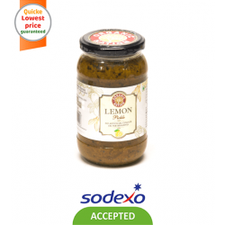 ORGANIC PICKLE SWEET LEMON PICKLE 400GM