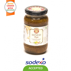 ORGANIC PICKLE MIXED PICKLE 400GM