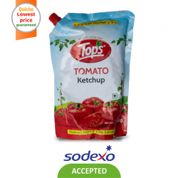 TOPS KETCHUP TOMATO KETCHUP POUCH 950 GM