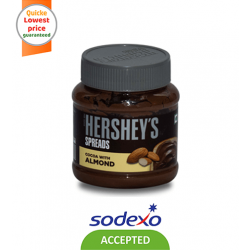 HERSHEY'S SPREADS COCOA ALMOND 350GM