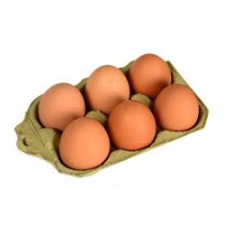 Eggs Brown 6 Pices