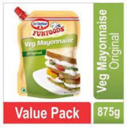 FUNFOODS MAYONNAISE EGGLESS 875GM