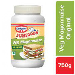 FUNFOODS MAYONNAISE VEG ORIGINAL 750 GM