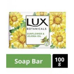 LUX SOAP BOTANICALS SUNFLOWER & JOJOBA OIL 100GM