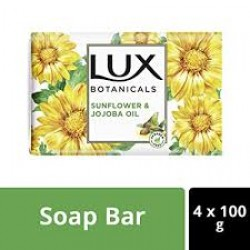 LUX SOAP BOTANICALS SUNFLOWER & JOJOBA OIL 3+1 400GM