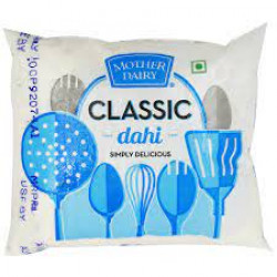 MOTHER DAIRY CLASSIC DAHI POUCH 400GM