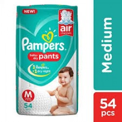 PAMPERS BABY PANTS M-54 PCS