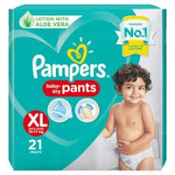 PAMPERS BABY PANTS XL-21 PCS