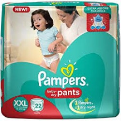 PAMPERS BABY PANTS XXL-22 PCS